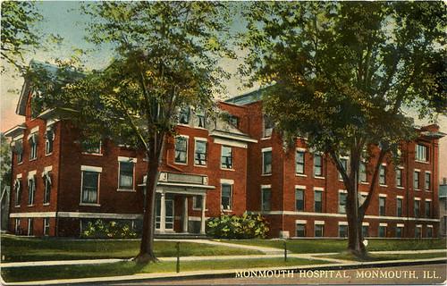 Postcard: Monmouth Hospital