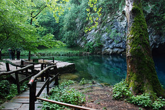 Peaceful (fhuell) Tags: bridge verde green water peaceful ponte acqua naturalmente blueribbonwinner polcenigo d80 sorgentilivenza
