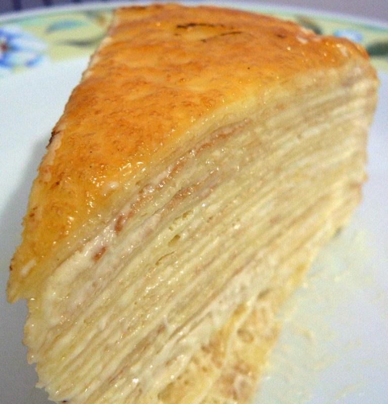 The Wondrous Mille Crepe Cake - A Whiff of Lemongrass