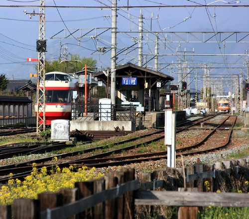 Obuse station, Nagano