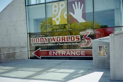 Entering Body Worlds