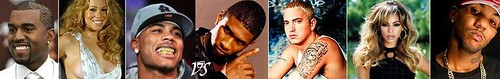 news on the game , kanye west, nelly , usher , beyonce