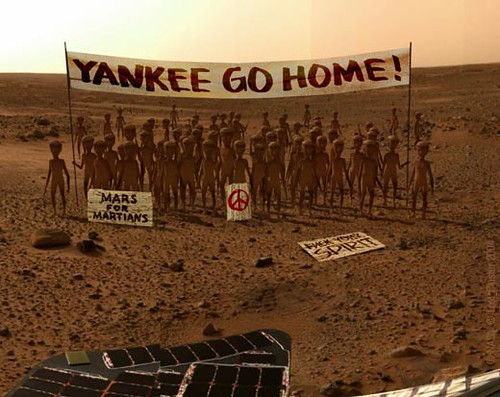 Mars Rover Finds Life on the Planet Mars...