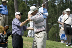 Els and Ledbetter (joe.langley) Tags: golf pga sawgrass pgatour progolf islandgreen theplayers tpcsawgrass golftpc