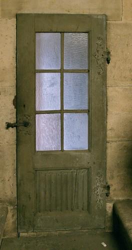 Werkstatt-Tür im Nordturm