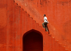 Red stairs( Jantar Mantar) (llanosom) Tags: india photographer delhi excellent plus awards soe blueribbonwinner supershot outstandingshots flickrsbest fivestarsgallery mywinners abigfave colorphotoaward 200750plusfaves superbmasterpiece goldenphotographer diamondclassphotographer flickrdiamond bestofflickrsbest