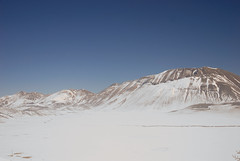 Castelluccio Plain in Winter (Psychedelic Harmony) Tags: snow norcia castelluccio hidella