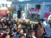 Inauguración de la Feria del Libro en el Jardín de Infantes Fray Luis Beltrán