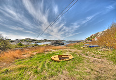 Archipelago (hkkbs) Tags: sea sky beach strand boat sweden himmel sigma 100views 400views 300views 200views sverige 500views westcoast hdr båt hav västkusten 3xp photomatix nikond200 1020mmf456exdc trälen vedhall