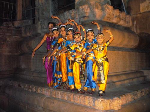Les danseuses de Tanjore
