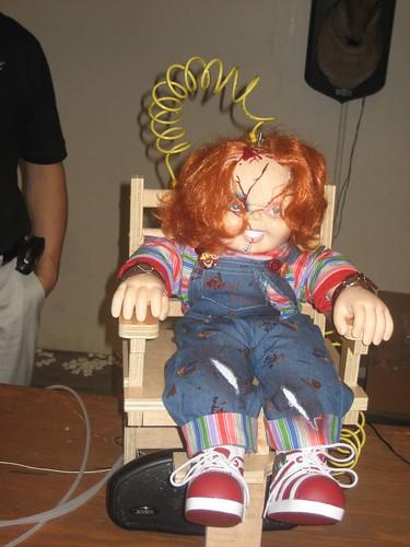 Electrocution Doll