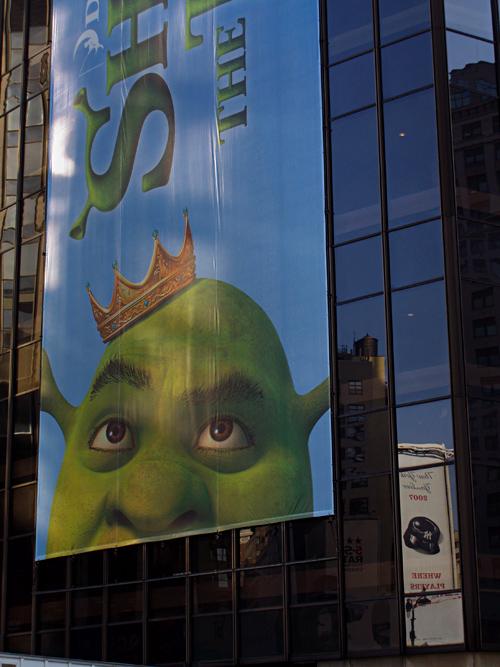 Shrek on MSG