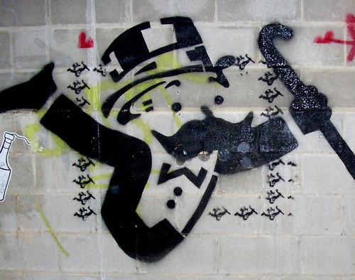 Monopoly Guy Stencil