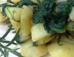 Patate e Spinaci