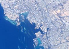 صورة فضائية عن مدينة جدة 2 (♡ ỳổüşêƒ βįŋ αђмαĐ ♡) Tags: ادور خخخخ ليا قاعد بيتي ساعتين مالقيتة ساعدوني