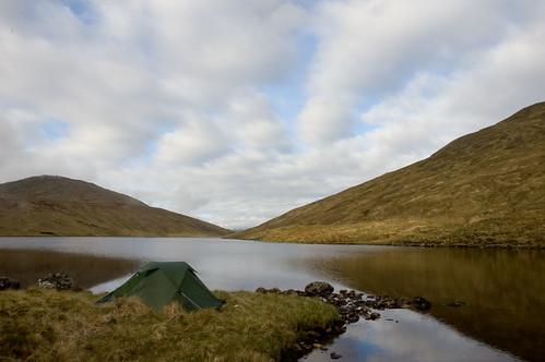 Loch Mhoicrean Wildcamp