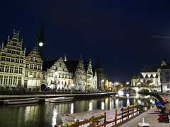 ghent canal - by Sean Munson