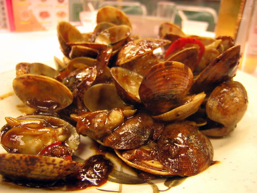Clams in Black Bean Sauce