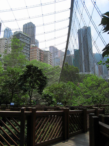 Aviary in Hong Kong Park