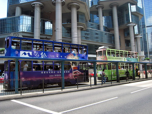 Doubledecker buses