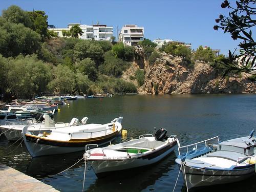 Agios Nikolaos lake