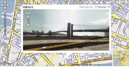 Google Street View New Yorkl
