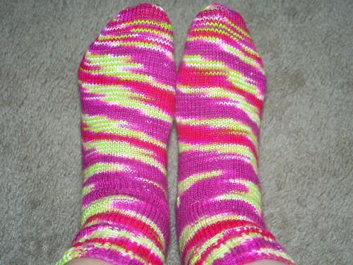 Yarnahoy Berriness Socks