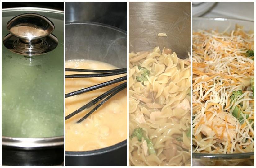 Creating a casserole