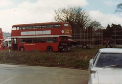 Newton Road depot early 1980 (aecregent) Tags: general devon roe leyland atlantean 902dtt