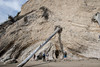 Unstable cliffs at Gaviota Beach S24A1173 (grebberg) Tags: gaviotabeach gaviotastatepark santabarbaracounty california october 2016 unstable cliff usa