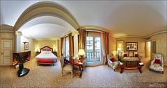 Junior Suite De Luxe , hôtel Métropole 5*, Monte-Carlo (Dany-de-Nice) Tags: monaco montecarlo hôtel hotel métropole luxe luxury suite panoramique panoramic 360 hdr oloneo autopano 6d fisheye 15mm