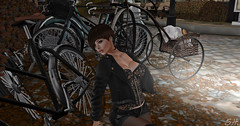 LACE AND LEATHER (hurricane.space) Tags: ack click poses secondlife shape picture photo texture applier olor bodymesh hair skin persone ip nails fashion sl catwa head 7ds rezology poison testo schermata allaperto venusshoes erratic color designs industries beauty mesh altamura bento