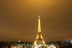 Eiffel Tower (New lights)