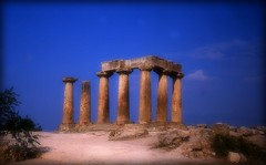 (478) Temple of Apollo at Corinth, Greece (Franz St.) Tags: temple corinth greece griechenland distillery pictureperfect colomns 5photosaday abigfave anticando worldtrekker franzst internationalflickrawards