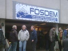 FOSDEM  entrance