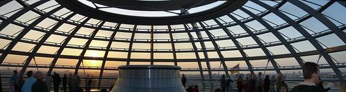 Reichstagskuppel Pano