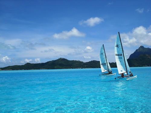 Deportes acuáticos en Bora Bora