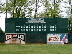 2007 Scoreboard Woodside Mills Baseball Park, Simpsonville, SC