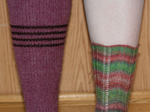 Side by Side Socks