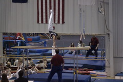 Handstand on P-Bars
