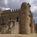King Fasilides castle in Gondar