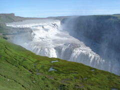 Gullfoss (little_frank) Tags: world above travel wild vacation panorama white mountains nature water beautiful grass rock vertical river spectacular wonder landscape island gold freedom golden photo waterfall iceland islandia amazing fantastic scenery europe heaven paradise colours natural north sunny canyon hills erosion fantasy whiteriver gorge wilderness northern foss pure mighty gullfoss breathtaking impressive islande sensation marvellous spectacle breathless goldencircle mounts islanda irreal primordial hvt fossen supershot golddragon abigfave groovygang platinumphoto ultimateshot naturefinest diamondclassphotographer flickrdiamond betterthangood theperfectphotographer goldstaraward gnneniyisithebestofday