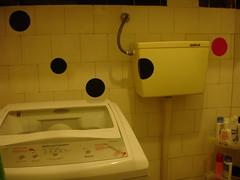 era um banheiro de bolinha - 3 (Joelma Terto - monomulti) Tags: casa bolas banheiro chamegocenter