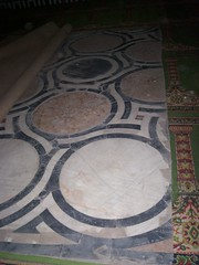 Floor, Qaytbay complex (1474) (helen_romberg) Tags: architecture egypt mosque medieval historic cairo cityofthedead islamiccairo northerncemetery amribnalas qaytbay