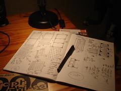 hutch planning (dnunez_za) Tags: bunnies conejo plan hutch coelho oranjezicht skrtch