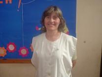 Marina Calés de Carregio (Directora de la Esc. Gral. San Martín)