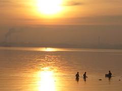 sunrise at sembawang beach