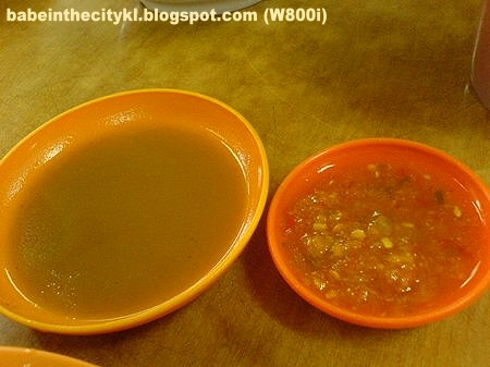 KM - dipping sauce n chili dip
