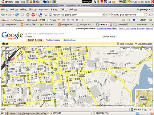 Google Maps - Chiayi