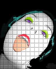 una piruleta please!! (SwEeTcHy) Tags: portrait digital photoshop retrato pop popart warhol retoque